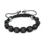 Bratara Shamballa True Black