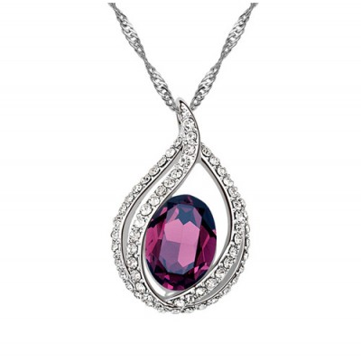 Colier Deeply Amethyst
