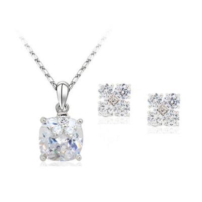 Set simulated Diamond Crystal Stone
